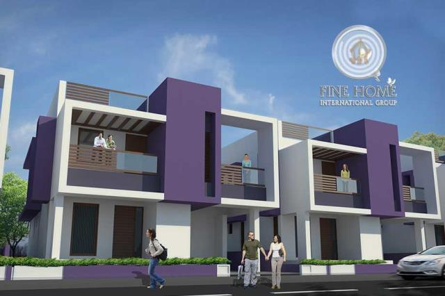 2 Villas compound in Mohammed Bin Zayed City